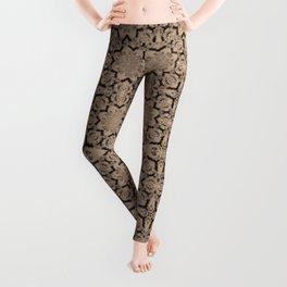 Hazelnut Geometric Leggings