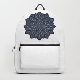 Denim flower 1 Backpack