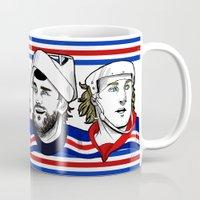 power rangers Mugs featuring Rangers by Kana Aiysoublood