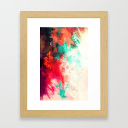 Painted Clouds VIII Framed Art Print
