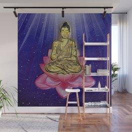 GOLDEN BUDDHA Wall Mural