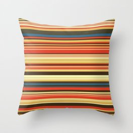 Old Country Stripes - Bold - Horizontal Throw Pillow