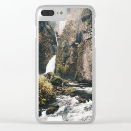 Supersoaker Clear iPhone Case