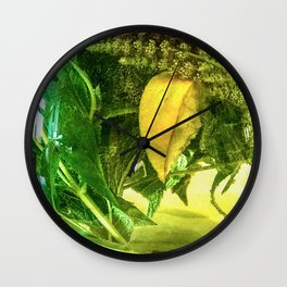 When life gives you lemons you make mint tea  Wall Clock