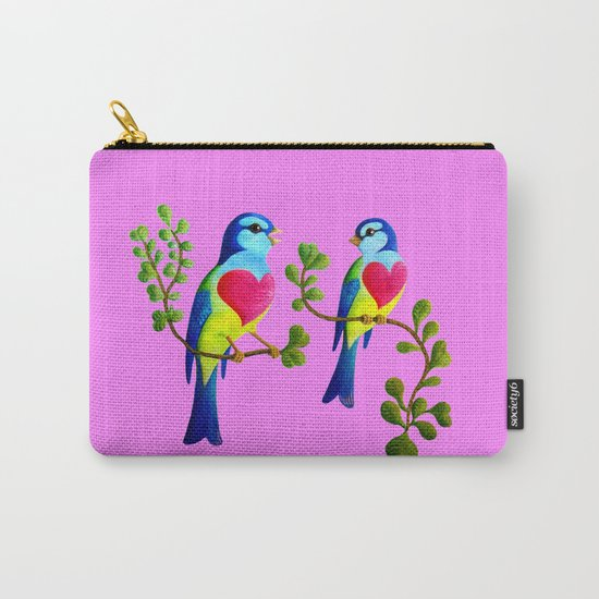 finches love Carry-All Pouch