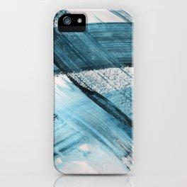 Indigo Your Own Way iPhone Case