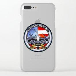 USS GEORGIA (SSGN-729) PATCH Clear iPhone Case