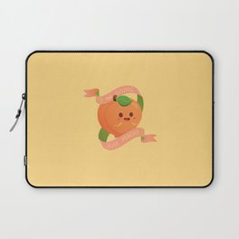 I Am Doing Just Peachy Laptop Sleeve