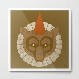 Circusbear Metal Print