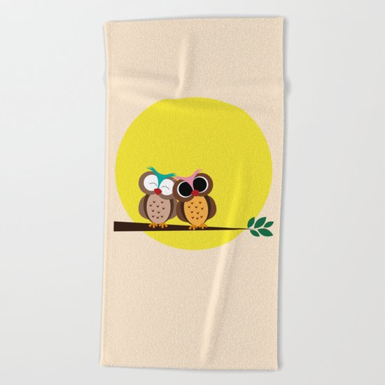 Together Beach Towel