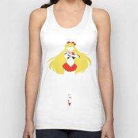 sailor venus Tank Tops featuring Sailor Venus by JHTY