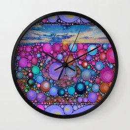 Kringles Design Modern Art Sunshine Wall Clock