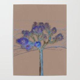 Joshua Tree Acid Wash by CREYES Poster