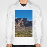 arizona Hoodies featuring Arizona by Katie Villarreal