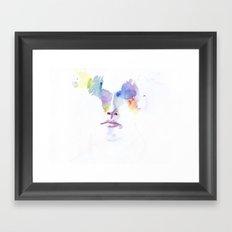 headlights eyes Framed Art Print