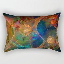 Neuron Network Rectangular Pillow