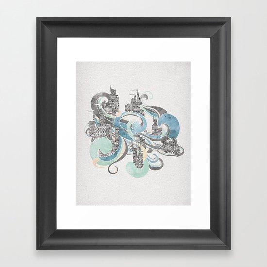 Salann Framed Art Print