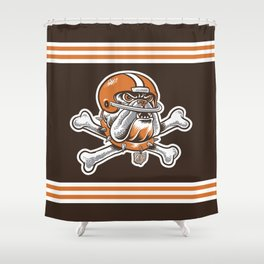 For My Dawgs Shower Curtain