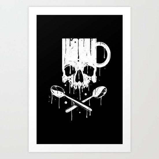 Coffee Pirates Art Print