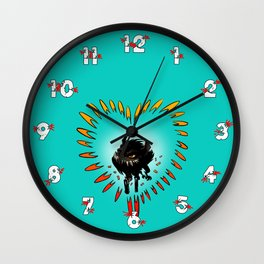 All you need is love... and guns Wall Clock