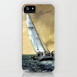 sailing team  iPhone Case