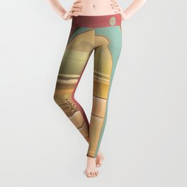 Beached Labyrinth Leggings