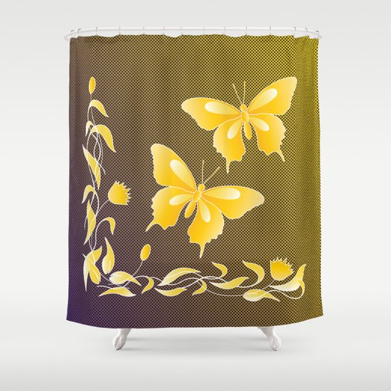 Fly At Dwan Shower Curtain