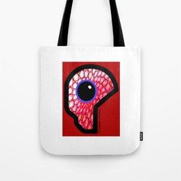 Futuristic Cyborg Logo 13 Tote Bag
