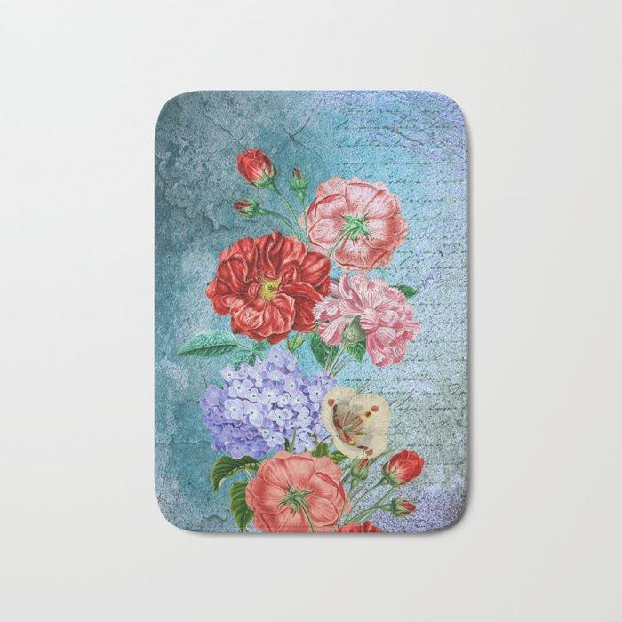 Wall Flowers Bath Mat