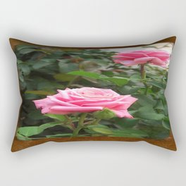 Pink Roses in Anzures 5  Blank P3F0 Rectangular Pillow
