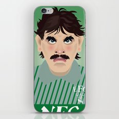 Big Neville Southall, Everton and Wales Greatest goalkeeper iPhone & iPod Skin