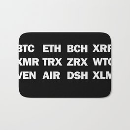 Cryptocurrency for life Bath Mat