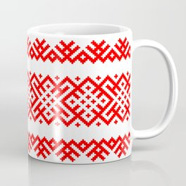 Pattern - Bogoroditsa - Slavic symbol Coffee Mug