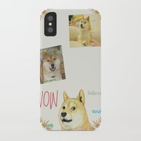 doge iPhone & iPod Cases featuring Wow Doge by Akin Enthusiasts