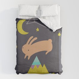 The Mountaineer Duvet Cover