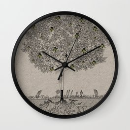 The Fatman Wall Clock