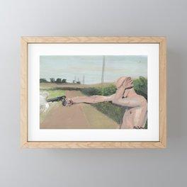 bang bang americana Framed Mini Art Print