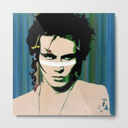 Adam Ant - Warrior Metal Print