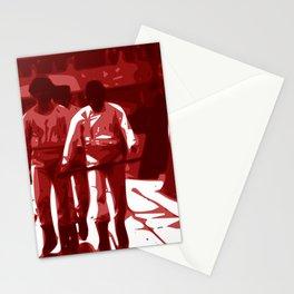 Minimalist ¨La Naranja Mecánica¨ Stationery Cards