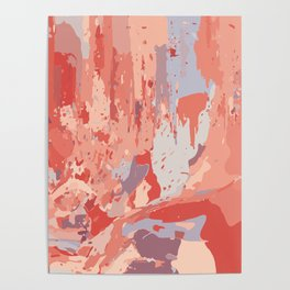 Autumn Abstract Colors Poster