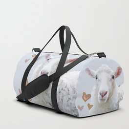 I Love Ewe Duffle Bag