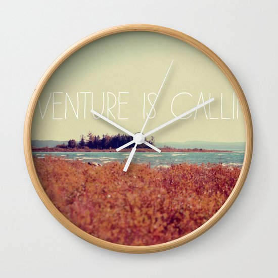 Adventure is Calling #2 Wall Clock