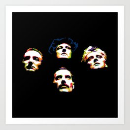 Queen band Art Print