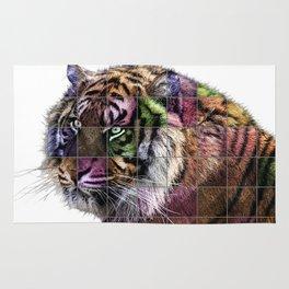 Tiger Pop Art Rug