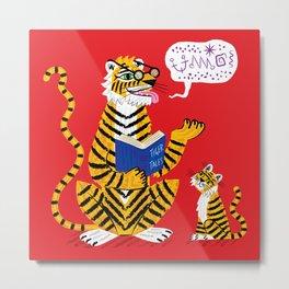 Tiger Tales Metal Print