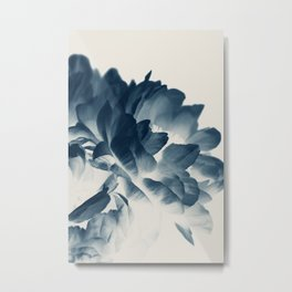 Blue Paeonia #3 Metal Print