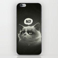 No! iPhone & iPod Skin