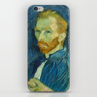 van gogh iPhone & iPod Skins featuring Van Gogh by Palazzo Art Gallery