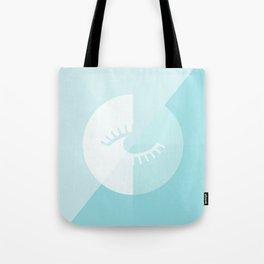 LOOK AT ME BLUE Tote Bag
