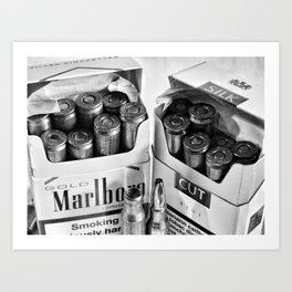 Smoking Kills Art Print